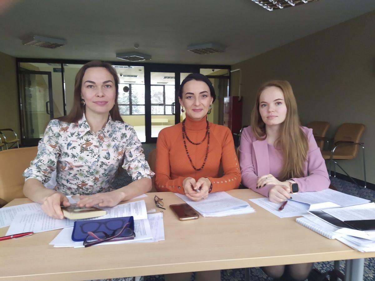 Софья Князева на переводческом семинаре