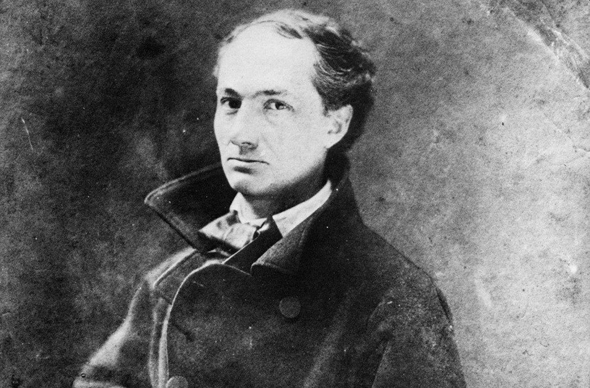 Charles Baudelaire. Фото: Фото: pinterest.ru
