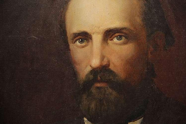 репродукция портрета И.С. Никитина