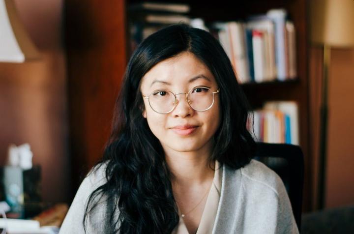 Author Weike Wang. Photo: Sophia Dai