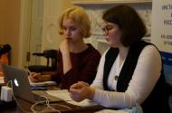 А. Павлова и Т. Фролова в ИМЛИ