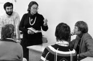 Лариса Васильева на творческом семинаре. 1980-е годы. Фото ИТАР-ТАСС