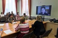Онлайн-выступление на Гердовских чтениях