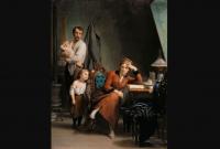Фриц Цубер-Бюлер «Поэтесса», 1880 год