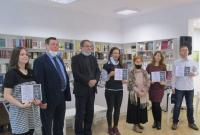 Вручение премий болгарским лауреатам