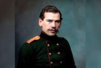 Лев Толстой в мундире