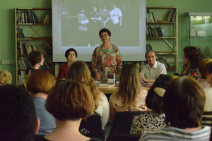 Творческая встреча с Верой Григорьевной Пантелеевой