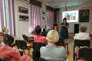 Встреча с Ольгой Ткаченко