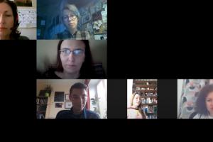 Скриншот выступления А.А. Орловой