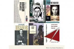 Обложки книг Георгия Иванова