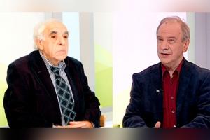 Евгений Рейн и Константин Кедров