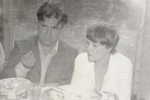 Фазиль Искандер и Белла Ахмадулина. Фото из архива Евгения Попова / rewizor.ru