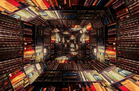 Library Tunnel / Prettysleepy / Pixabay.com