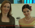 Анна Владиславовна Ямпольская со своей студенткой Владиславой Сычёвой