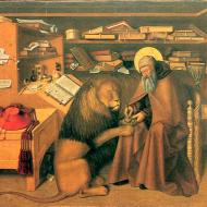 Колантонио. Святой Иероним и лев