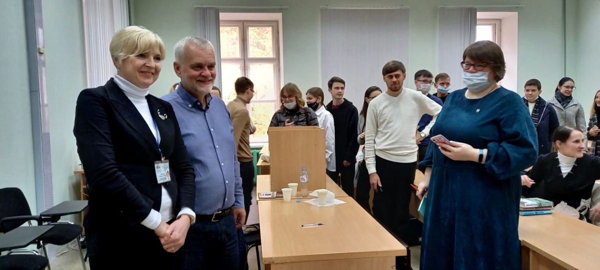 Алексей Варламов в Библиотеке им. С.В. Михалкова